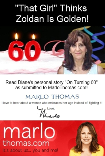 Read Diane Zoldan Burda's Funny Personal Story On Turning 60!!